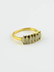 Artistically Gold Plated Rings