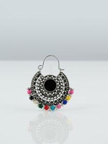 Traditional Oxidised Earrings