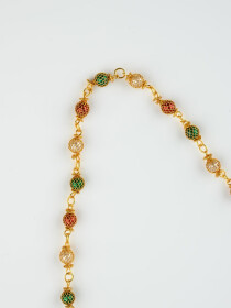 Cluster Gold Plated Chain
