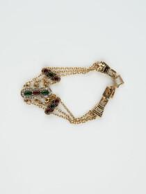 Gold Plated Modish Bracelet