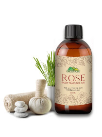 Rose Head & Body Massage Oil