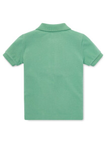Infants - Cotton Mesh Polo Shirt - Cruise I Green
