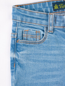 Medium Blue Washed Slim Fit Jeans