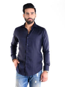 REGULAR FIT SHIRT POLO NAVY