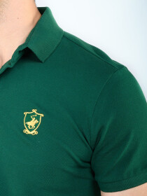 KC POLO HORSE SHIELD GREEN