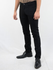 Men Black Slim Fit Denim