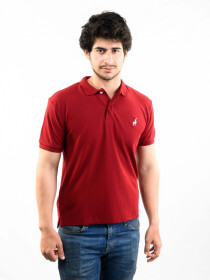 RGB Polo Shirt (Cool Maroon)