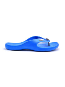BLUE-BLACK-GREY- BATH SLIPPER