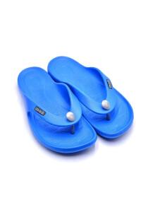 BLUE-BLACK-GREY- BATH SLIPPER