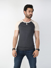 Multicolored Round Neck T-Shirt