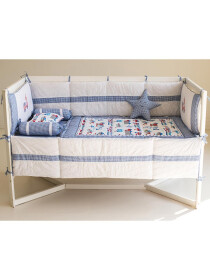 Bobby the Bus 10 Pcs Cot Set