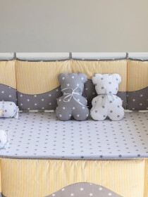Moon Shine 10 Pcs Cot Set