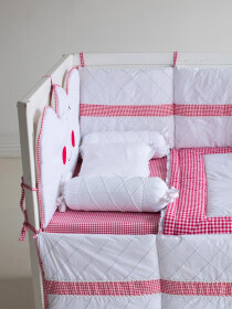 Red Riding Hood 10 Pcs Cot Set
