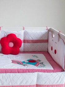 Red Riding Hood 16 Pcs Cot Set