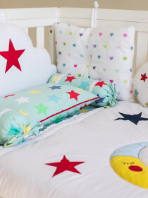 Twinkle Twinkle Little Star 10 Pcs Cot Set