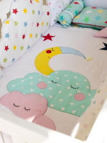 Twinkle Twinkle Little Star 14 Pcs Cot Set