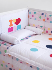 Mama,s Princess  10 Pcs Cot Set