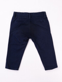 Dark Blue Equal Washed Slim Fit Chinos