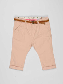 Pink Baby Girl Cotton Pants
