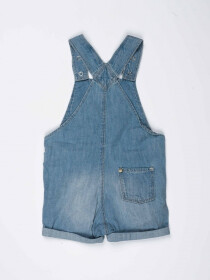 Sky Blue Baby Girl Denim Dungaree