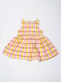 Multi Colored Striped Baby Girl Frock