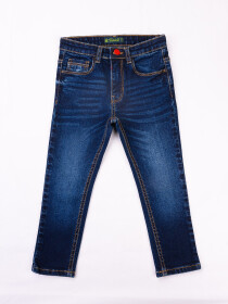 Blue Medium Washed Slim Fit Jeans
