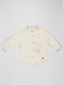 White Baby Boy Casual Shirt