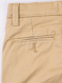 Slim Fit Chinos - Khaki