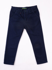 Slim Fit Chinos - Dark Blue