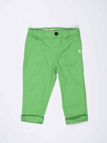 Green Solid Baby Boy Chino