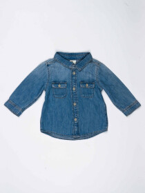 Blue Baby Boy Denim Shirt