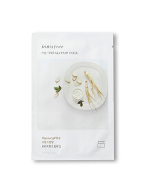 Innisfree My Real Squeeze Mask Shade:Ginseng