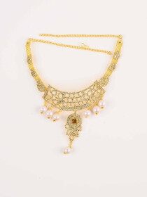 Elegant Gold plated Necklace set