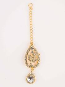 Shimmering Gold Plated Necklace Set