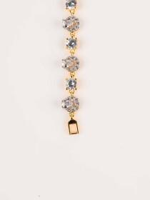 American Gold plated zircon bracelet