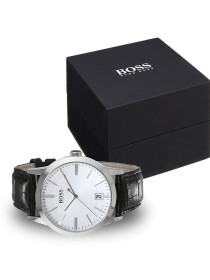 HUGO BOSS MEN WATCH - BLACK