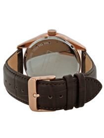 TOMMY HILFIGER MEN WATCH - DARK BROWN