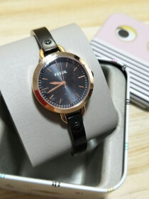 Fossil Black Watch for Ladies
