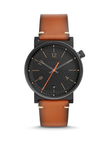 Fossil Barstow Three-Hand Luggage Leather Men Watch