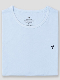 Sky Crew Cotton T-Shirts