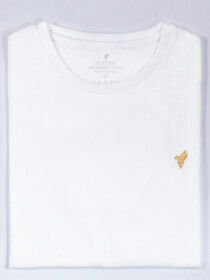 White Crew Slim Cotton T-Shirt