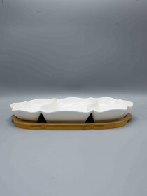 3 Portion Serving Dish