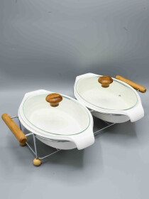 Solecasa 5 pcs dish with stand