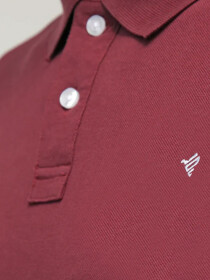 Maroon Basics Polo Shirt