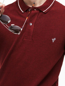 Maroon Vogue Polo Shirt