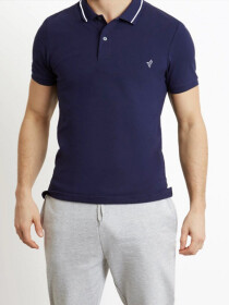 Navy Vogue Polo Shirt