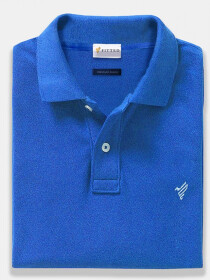 Rich Blue Polo Shirt