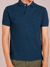 Teal Blue Polo Shirt