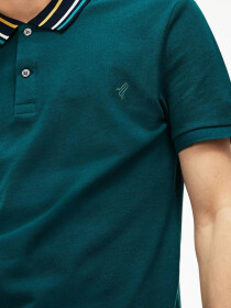 Green Sports Polo Shirt