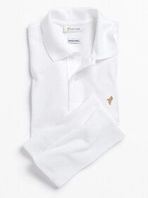Pure White Polo Shirt